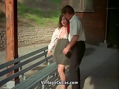 Teacher and Student Female get Sexual Satisfaction (Antique)
