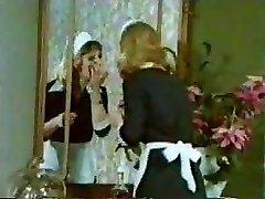Old-school Vintage Retro - Little Tove Clip - Maid Orgy