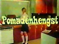 vintage 70s german - Pomadenhengst - cc79