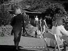 Steamy Girls in the Nudist Resort