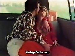Kinky Mädchen Fingern im Auto