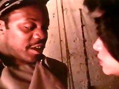 Retro Vanessa Del Rio interracial Blow-job