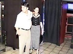 Pregnant BDSM girl porked in sexshop