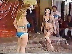 Titanic Toni Kessering Dirt-Wrestling - 80s old-school!