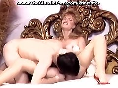 Retro wife in high heels nasty ravage