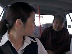 Crazy Japanese chick Nao Mizuki, Hikari Hino in Nasty Camper, Cunnilingus JAV vid