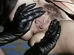 Vintage Lesbians Licking Fabulous Black Boots And Juicy Twats