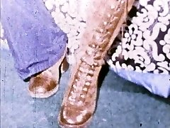 Linda Lovelace 8mm Loop - Open pussy, insert sole!