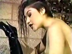 Classic belt cock scene
