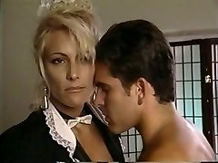 TT Boy busts his wad on blonde cougar Debbie Diamond