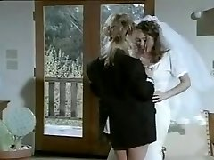 Lesbian lovemaking after marriage.
