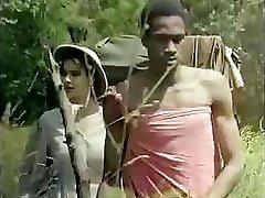 Tarzan catapults his oversized love club deep into Jane�s moist slit