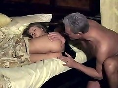 Rita Faltoyano wakes up with finger in her caboose