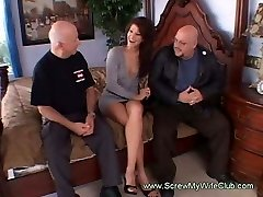 Horny Housewife Gets Fucked By Total Strange Men Swinging