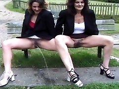 mix of British piss girls