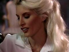 Hot blond nurses ready for a threeway
