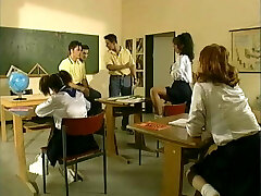 Hot young schoolgirls penetrated by big hard cocks