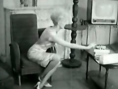 Blonde Home Alone