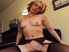 Black cock goes deep in redheads arsehole