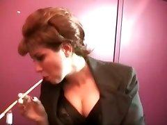 Smoking antique slut