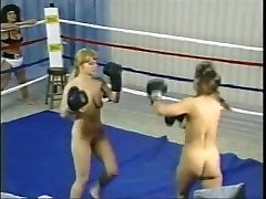 Antique Topless Boxing Fight