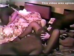Crazy homemade Retro, Interracial porn movie