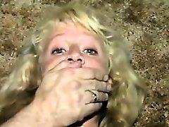 Ultra-cute Blonde Slave Duct Taped Classic