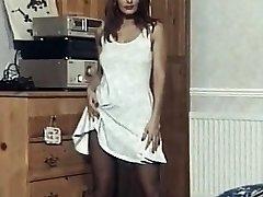 Imagination  - antique striptease dance nylons heels