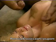 Finest classic Pornstar cum facial collection 2