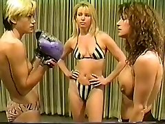 Cal Superb Christine vs Lee bare-breasted boxing