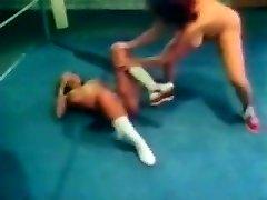 Fat Boob Retro Wrestling
