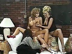 Hottest pornstars Menage Trois and Anna Amore in incredible threesomes, nurse hardcore flick