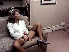Lee Caroll, Sharon Kane in fur covered vulva eaten and