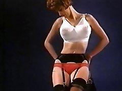 WASTING MY TIME - vintage nylon striptease pantyhose
