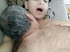Crispy Man in a Very Hot Lovemaking Show With Old Man