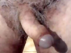 Dad showing uncircumcised cock on cam for the first time