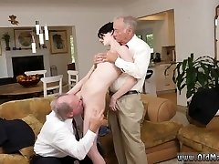 Men gag on hard-on vid and free flick