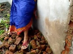 Devar Outdoor Fucking Indian Bhabhi In Abandoned Building Ricky Public Hookup