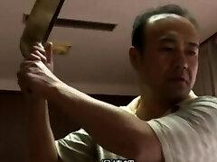 Small tit asian scissoring