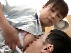 Wild Japanese slut in Exotic Nurse, HD JAV episode