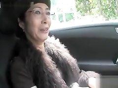 Scorching Asian granny deepthroat cock and fuck