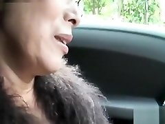Scorching Asian granny deepthroat cock and fuck