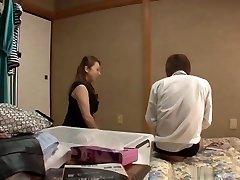 Yumi Kazama caught stepson