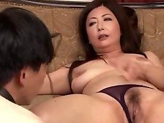 Asian Elder Ayano Murasaki and Bondman (Uncensored)