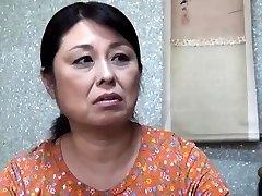 Asian Hairy Mature Shiori cuckold on her husband