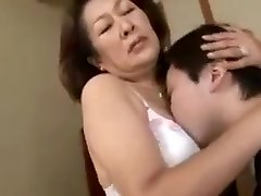 Affection of Mommy and Son