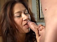 Spicy oriental mature woman