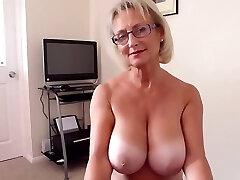 British big natural tits mature super-fucking-hot blowjob