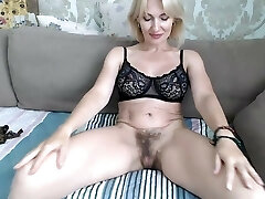 PInk big tits of light-haired mature