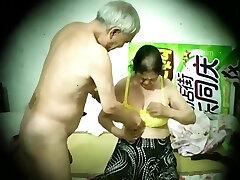Japanese old man mature couple hidden camera 老头 老夫妻